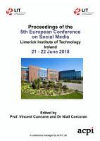 ECSM 2018 5th European Conference on Social Media PDF