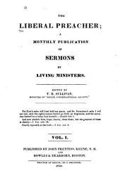 The Liberal Preacher: Volumes 1-2