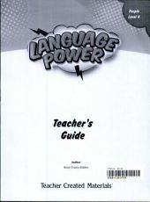 Language Power: Grades K-2 Level A Teacher's Guide
