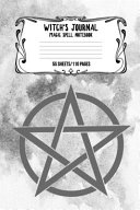 Witch S Journal Magic Spell Notebook 55 Sheets 110 Pages Book PDF