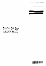 American Red Cross Standard First Aid Instructor's Manual