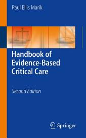 Handbook of Evidence-Based Critical Care: Edition 2