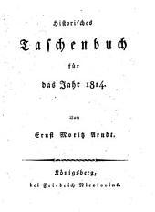 Historisches Taschenbuch für das Jahr 1814