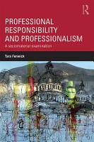 Professional Responsibility and Professionalism PDF