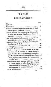 Mémoires sur la marine et les ponts et chaussées de France et d'Angleterre: contenant deux relations de voyages ...