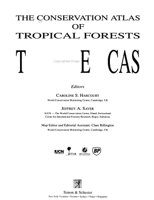 The Conservation Atlas of Tropical Forests