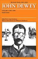 The Early Works  1882 1898  1895 1898  Early essays PDF
