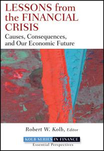 Lessons from the Financial Crisis Book