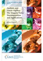 Analysis and Linear Algebra: The Singular Value Decomposition and Applications