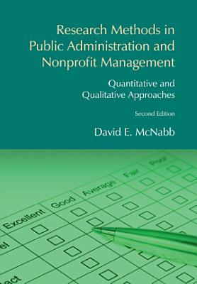 Research Methods in Public Administration and Nonprofit Management PDF