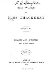 The Works of Miss Thackeray: Volume 7