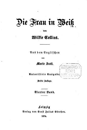 Die Frau in Weiss PDF