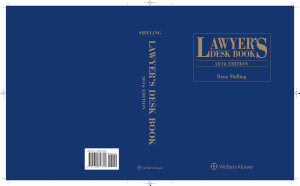 Lawyer s Desk Book  2016 Edition PDF
