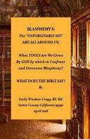 Blasphemy   the Unforgivable Sin Are All Around Us PDF