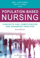 Population Based Nursing  Second Edition PDF