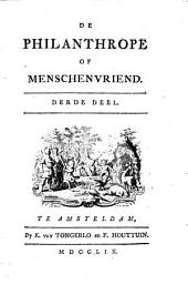 De philanthrope of menschenvriend: Volume 3