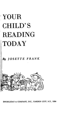 Your Child s Reading Today PDF