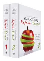 Encyclopedia of Educational Reform and Dissent PDF