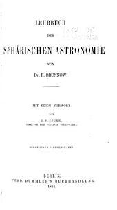 Lehrbuch der sphärischen Astronomie