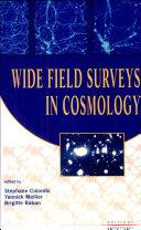Wide Field Surveys in Cosmology