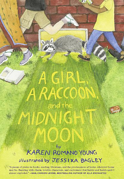 Download A Girl  a Raccoon  and the Midnight Moon Book