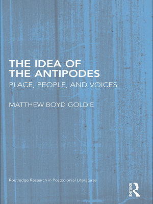 The Idea of the Antipodes