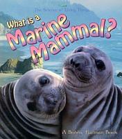 What is a Marine Mammal  PDF