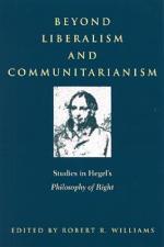 Beyond Liberalism and Communitarianism