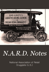 N.A.R.D. Notes: Volume 8, Issue 7