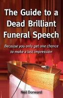 The Guide to a Dead Brilliant Funeral Speech