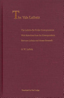 The Leibniz De Volder Correspondence PDF