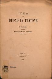 Idea del buono in Platone ...
