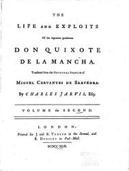 The Life And Exploits Of The Ingenious Gentleman Don Quixote De La Mancha Book PDF