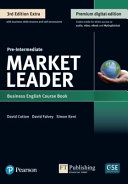 9781292361161 MARKET LEADER 3E EXTRA PRE INTERMEDIATE COURSE BOOK, EBOOK, QR, MEL & DVD... PACK.