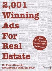 2 001 Winning Ads for Real Estate PDF