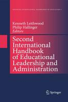 Second International Handbook of Educational Leadership and Administration PDF