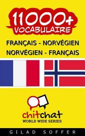 11000+ Français - Norvégien Norvégien - Français Vocabulaire