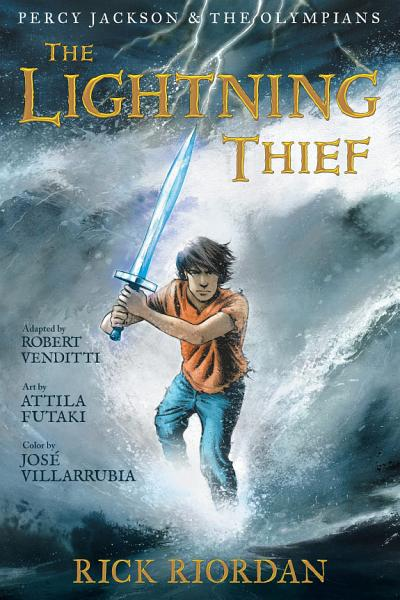 Download Percy Jackson and the Olympians  The Lightning Thief  The Graphic Novel Book