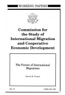 Download The Future of International Migrations Book