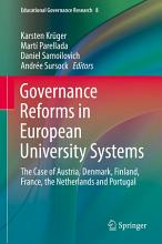 Governance Reforms in European University Systems PDF