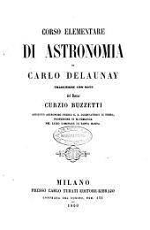 Corso elementare di astronomia di Carlo Delaunay