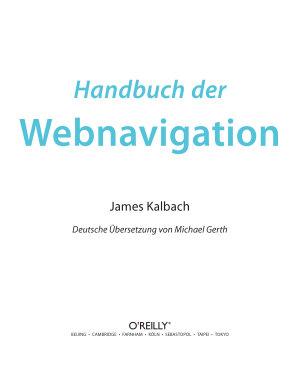 Handbuch der Webnavigation PDF