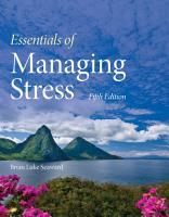 Essentials of Managing Stress PDF
