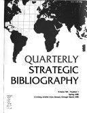 Quarterly Strategic Bibliography PDF