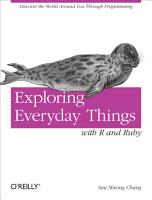 Exploring Everyday Things with R and Ruby PDF