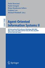Agent-Oriented Information Systems II