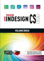 Cole    o Adobe InDesign CS6   Volume   nico PDF