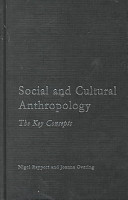 Social and Cultural Anthropology PDF