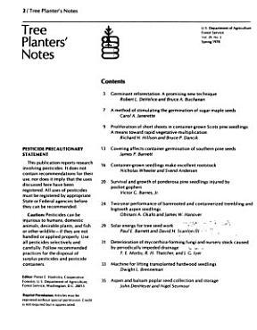 Tree Planters  Notes PDF