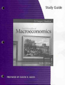 Study Guide for Mankiw s Brief Principles of Macroeconomics  6th